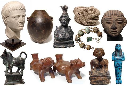 Online Antiquity Auction